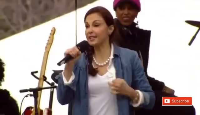 Watch Ashley Judd Nasty Woman Women's March Speech on Washington Anti Donald Trump Protest GIF on Gfycat. Discover more related GIFs on Gfycat