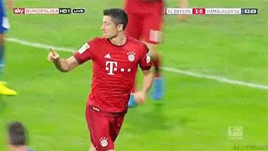 Watch and share Robert Lewandowski GIFs and Fc Bayern München GIFs on Gfycat