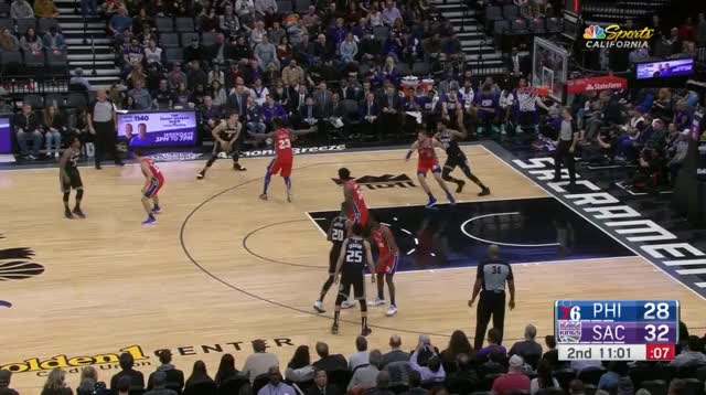 Watch and share Philadelphia 76ers GIFs and Sacramento Kings GIFs by prejuce on Gfycat