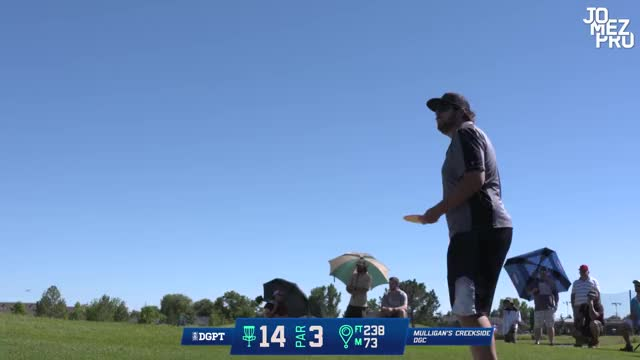 Watch Thumber Bounce ACE! Disc Golf Hole in One - Sias Elmore - 2018 Utah Open Final Round GIF by Benn Wineka UWDG (@bennwineka) on Gfycat. Discover more JomezPro, Sports GIFs on Gfycat