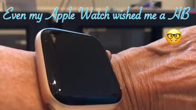4e748a93b5c Watch Apple Watch GIF by Anne (@annerolfe) on Gfycat. Discover more birthday