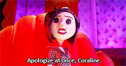 Watch For You? Anything. GIF on Gfycat. Discover more 500plus, Coraline, moviegifs, movies, my gifs GIFs on Gfycat