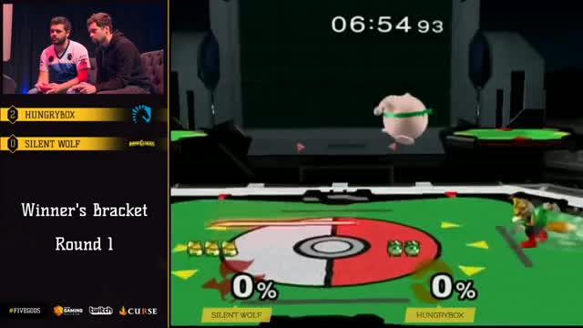 WQ: Silent Wolf (Fox) vs. Hungrybox (Jigglypuff)