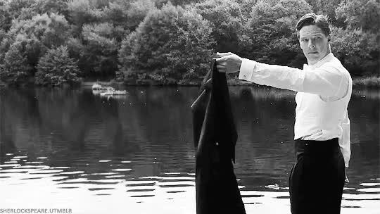 Watch and share Benedict Cumberbatch's Wet Dress Shirt Contest GIFs on Gfycat