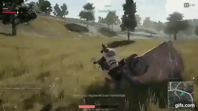 Watch PUBG physics GIF on Gfycat. Discover more gamephysics GIFs on Gfycat