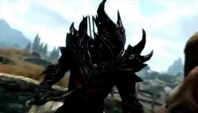 Watch Skyrim Finisher GIF on Gfycat. Discover more elder scrolls, skyrim GIFs on Gfycat