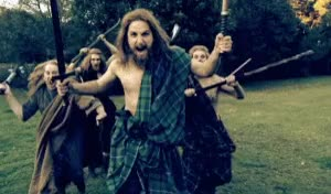 Watch and share Scottish Photo: Scottish Warriors Scottishwarriors.gif GIFs on Gfycat