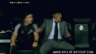 Watch jose mourinho knee slide GIF on Gfycat. Discover more related GIFs on Gfycat