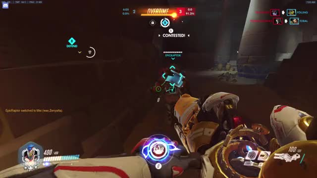 Watch and share Overwatch GIFs and Zarya GIFs by istanley on Gfycat