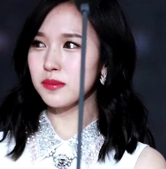 Watch and share Pinned - This Stays Being The Prettiest Gif Ever, Her Eyes Sparkle And Her Tears Look Like Diamonds GIFs by Koreaboo on Gfycat