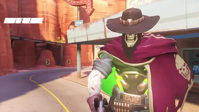 Watch this humanapproved GIF on Gfycat. Discover more highlight, mccree, overwatch, potg GIFs on Gfycat