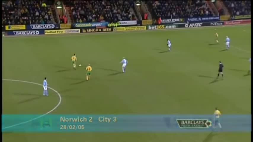 mcfc, ncfc, soccer, Norwich 2-3 Man City 2004/2005 GIFs