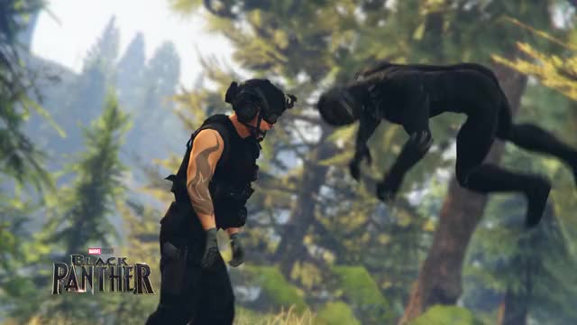 Watch and share Black Panther - (GTA 5 Machinima) GIFs on Gfycat