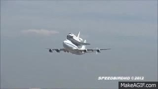 Watch and share NASA Boeing 747-123 [N905NA] With Space Shuttle Endeavor At LAX GIFs on Gfycat