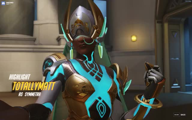 Watch and share Overwatch GIFs and Symmetra GIFs by totallymatt on Gfycat