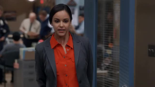 Watch and share Brooklyn Nine Nine GIFs and Melissa Fumero GIFs by thefakegm on Gfycat