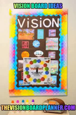 Watch and share Vision Board Ideas GIFs and Vision Boards GIFs by clarkemicheal37 on Gfycat