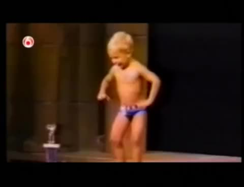 Watch and share Baby Bodybuilding GIFs on Gfycat