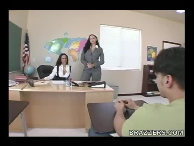 Gianna Michaels and Carmella Bing - Big tits at school