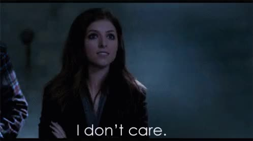 Watch and share Anna Kendrick GIFs and I Don't Care GIFs on Gfycat