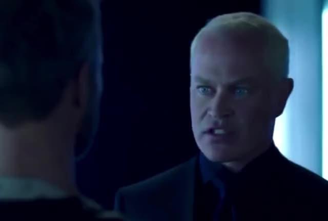 Watch Damien Darhk *Funny* - 1 (Arrow S4 Blooper) GIF on Gfycat. Discover more arrow, blooper, celebs, damien darhk, funny, neal mcDonough, stephen amell GIFs on Gfycat