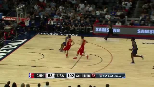 Watch and share Harrison Barnes Dunk Vs China GIFs by dirk41 on Gfycat