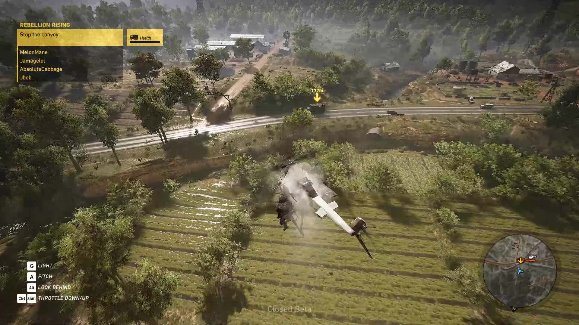 GhostRecon, Wildlands, How to take a convoy Ghost Recon Wildlands GIFs