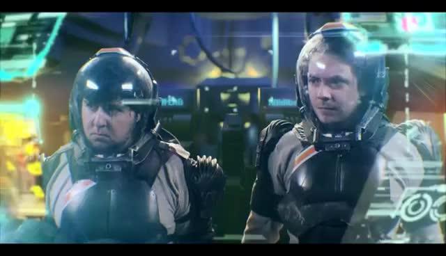Pacific Rim, clap, game grumps, high five, mecha, parody, Jaeger clap GIFs