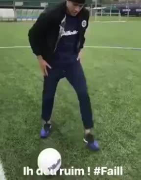 Neymar juggling GIFs