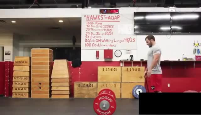 Mat Fraser training CrossFit 2017 GIFs