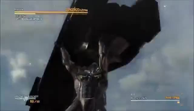 Watch and share Metal Gear Rising: Revengeance: MG Excelsus Boss Battle (Revengeance Mode, No Damage, S Rank) GIFs on Gfycat