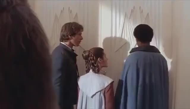 Watch anakin psywalker GIF on Gfycat. Discover more calrissian, funny dinner, han, lando, leia, princess, psy, solo GIFs on Gfycat
