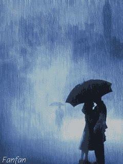 Watch and share Rain Romance | Animated ROMANTIC ♡ | Fanfan.crea GIFs on Gfycat