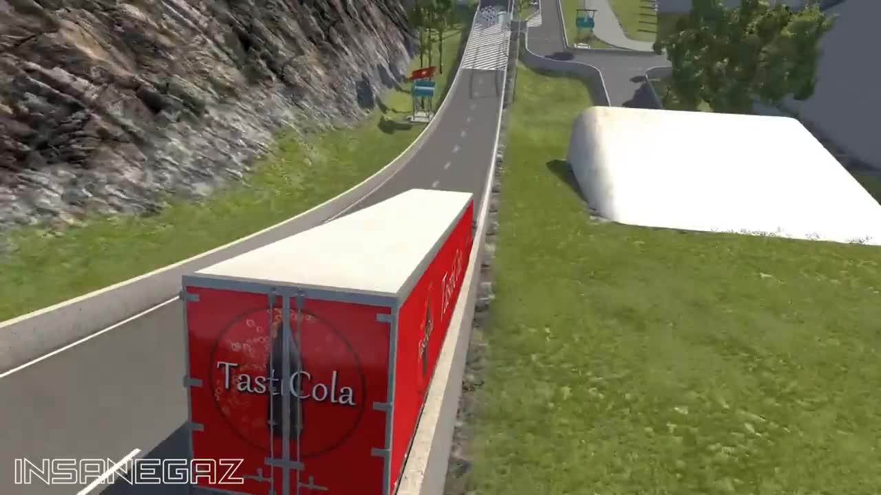 BeamNG Drive Outtakes #26 GIFs