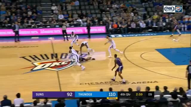 Watch and share Phoenix Suns GIFs and Basketball GIFs by upthethunder on Gfycat