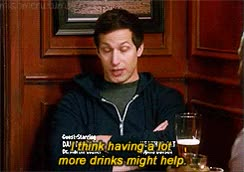 Watch drinks GIF on Gfycat. Discover more andy samberg GIFs on Gfycat