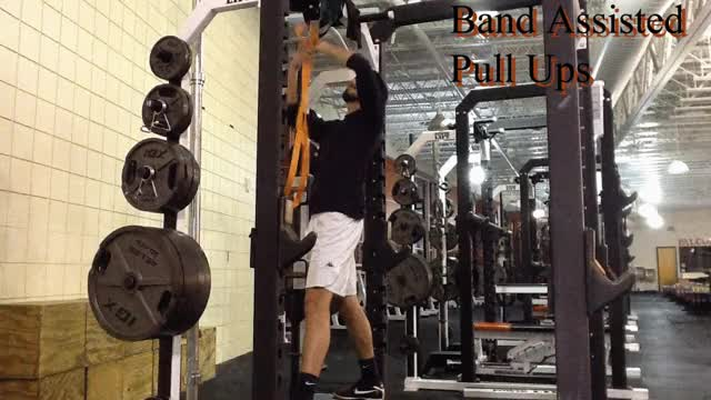 Watch and share Pull Ups Band Assisted GIFs by Deus Athletics on Gfycat