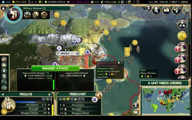 Watch and share Naval Bombardment - Civ 5 GIFs on Gfycat