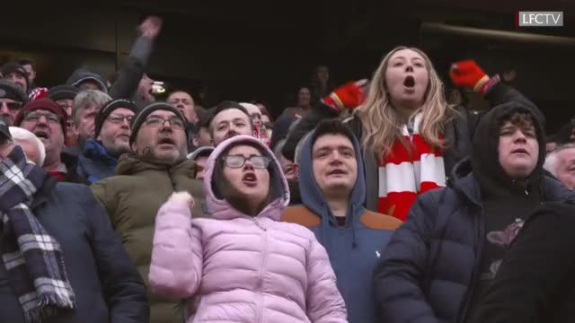 Watch this trending GIF by @bkrimmel on Gfycat. Discover more Anfield, Feminism, Inside Anfield, LFC, Liverpool, Liverpool FC, Liverpool Football Club, Mo Salah Feminist Reds, Mohamed Salah, Salah, premier league GIFs on Gfycat
