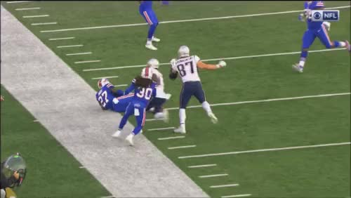 Watch and share Gronk Cheap Shot GIFs by nlk21 on Gfycat