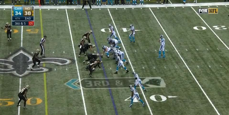 panthers, Ginn dropped TD midfield GIFs
