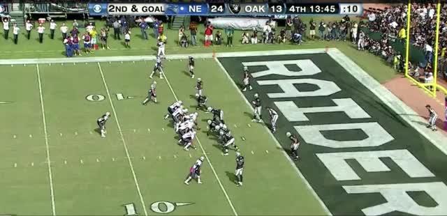 Watch and share 2011: Brady To Branch 5 Yard TD GIFs on Gfycat