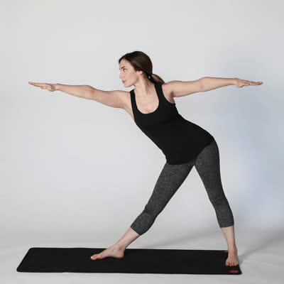how to unlock hip flexor yoga exercise for lower back