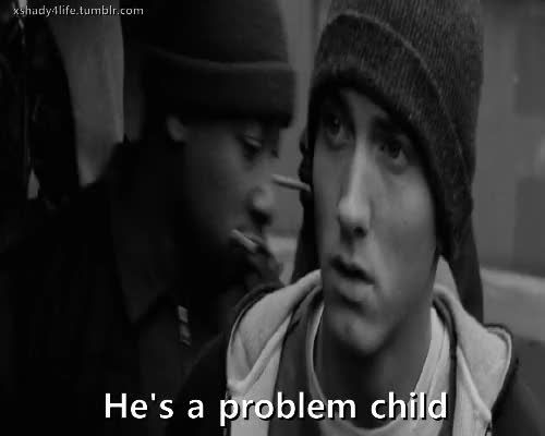 Watch and share Problem GIFs and Eminem GIFs on Gfycat
