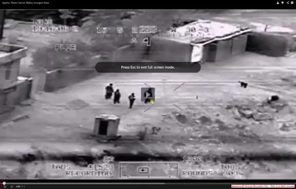 Watch and share Apache Helicopter Kills Terrorists GIFs on Gfycat