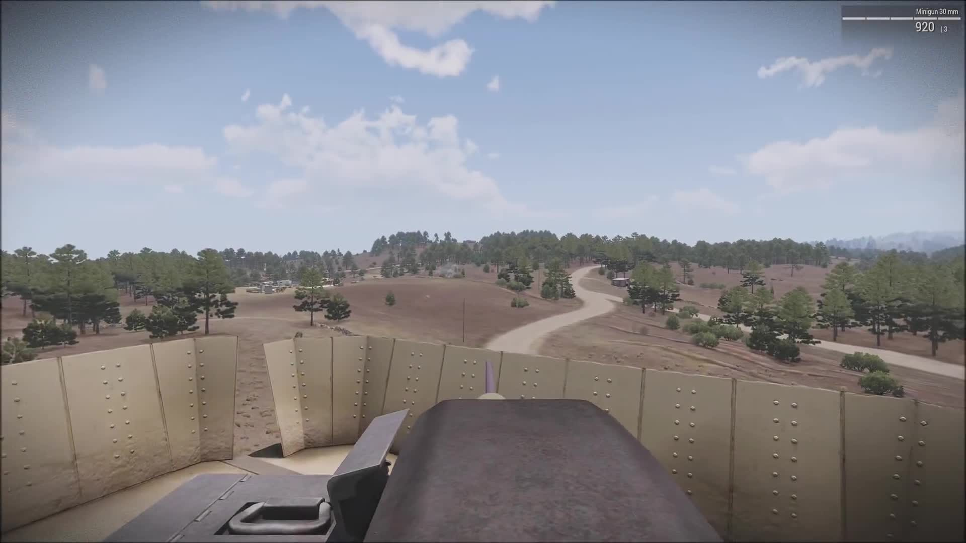 Achilles, Arma, Arma 3, Game, Lcpl, Lcpl., Liru, Scenario, Zeus, gaming, 30mm gatling added to a 50 cal turret. What can go wrong? GIFs