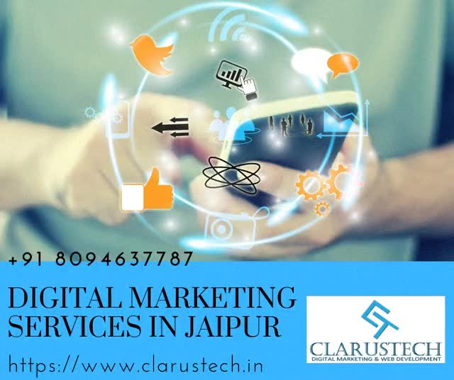 Watch and share Digital Marketing Services In Jaipur  +91 8094637787 GIFs by clarustech on Gfycat