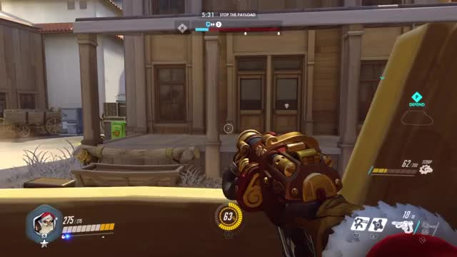 Watch Armor Pack Trickshot GIF on Gfycat. Discover more overwatch, ps4share, sony interactive entertainment GIFs on Gfycat