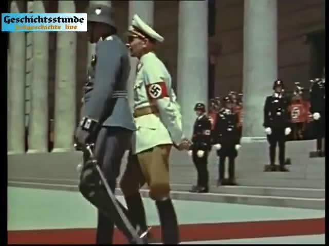 Watch München 1939 (unkommentiert & in Farbe) Zeitgeschichte live GIF on Gfycat. Discover more adolf hitler, hitler, nsdap GIFs on Gfycat
