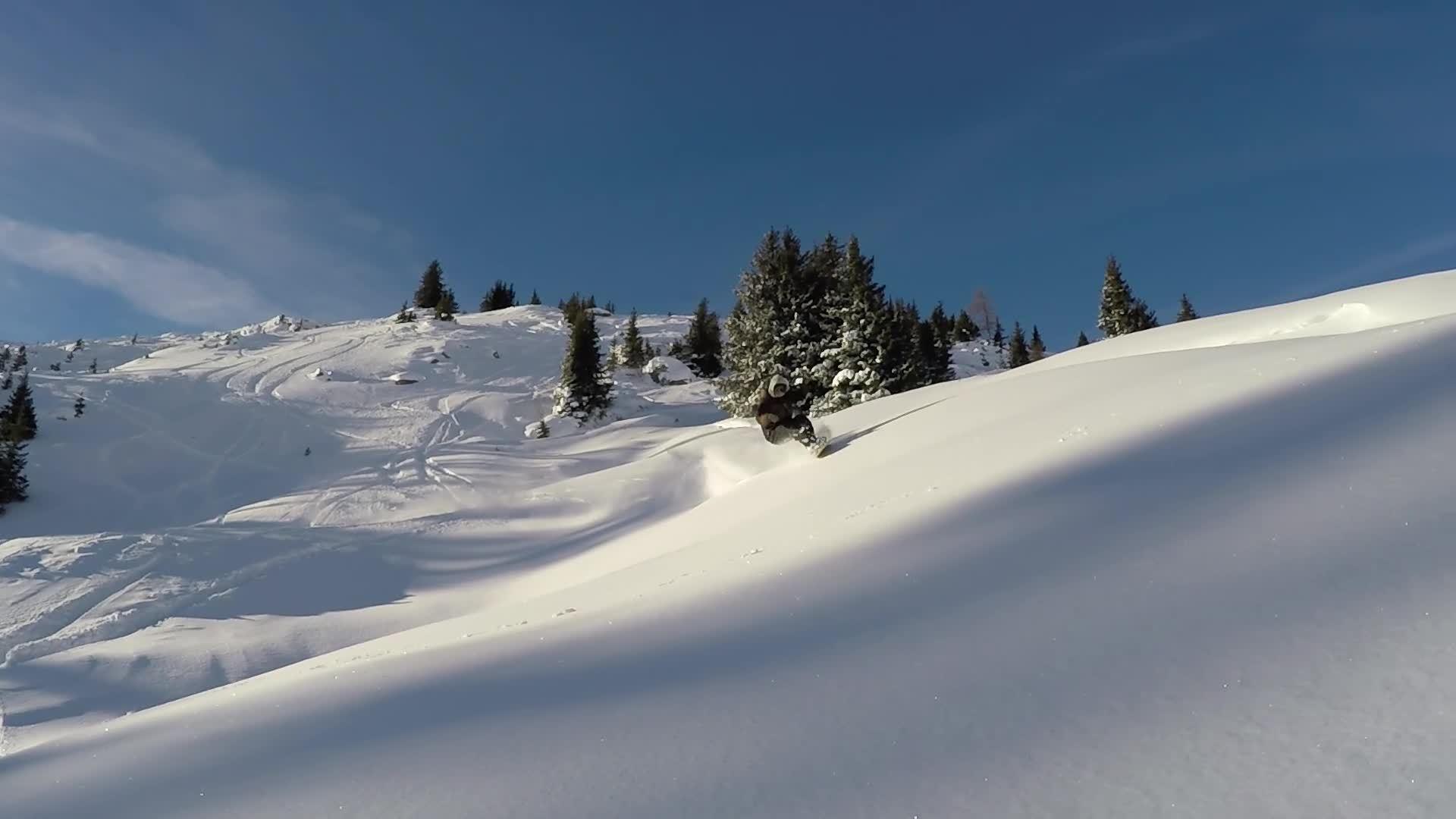 snowboard, snowboarding, sports, Stale Sandbech Pow Slash GIFs
